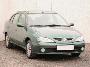 Renault Megane 2001 Sedan zelená 9