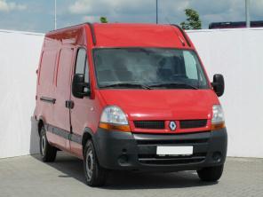 Renault Master 2007 Van červená 5