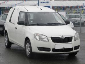 Škoda Roomster 2013 Pickup biela 1