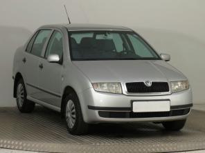 Škoda Fabia 2003 Sedan zielony 3