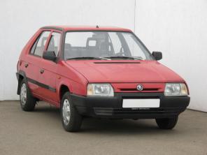 Škoda Favorit 1994 Hatchback modrá 1