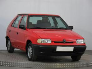 Škoda Felicia 1995 Hatchback červená 9