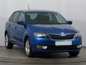 Škoda Rapid Spaceback 2015 Hatchback modrá 9