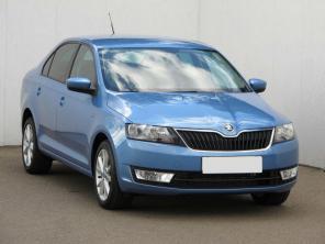 Škoda Rapid 2013 Hatchback niebieski 5