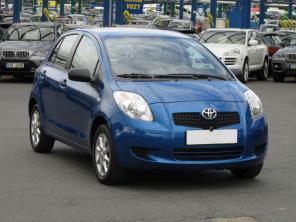 Toyota Yaris 2010 Hatchback kék 8