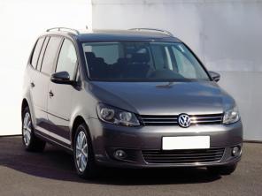 Volkswagen Touran 2012 Samochody Rodzinne szary 3