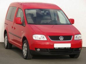Volkswagen Caddy 2007 Pickup červená 8