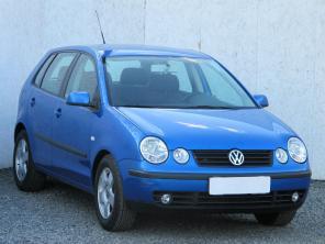 Volkswagen Polo 2004 Hatchback niebieski 10