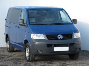 Volkswagen Transporter 2009 Bus modrá 4