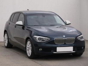 BMW 1 2013 Hatchback modrá 9