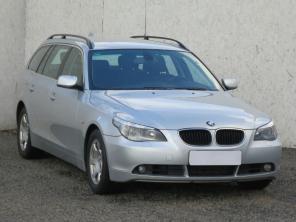 BMW 5 2007 Kombi ezüst 10