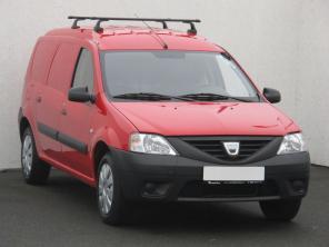 Dacia Logan 2010 Pickup červená 2