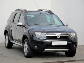 Dacia Duster 2012 SUV černá 8