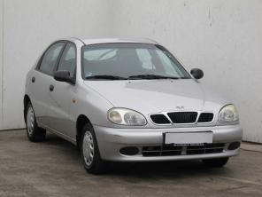 Daewoo Lanos 2000 Hatchback strieborná 10
