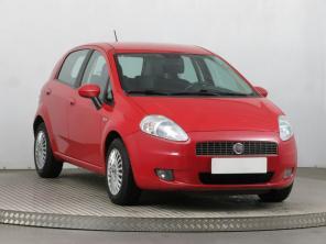 Fiat Grande Punto 2009 Hatchback czerwony 9