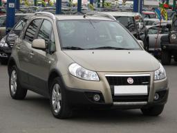 Fiat Sedici 2009 Hatchback šedá 2