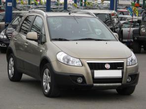 Fiat Sedici 2009 Hatchback šedá 3