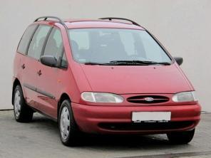 Ford Galaxy 1998 Rodinné autá červená 10
