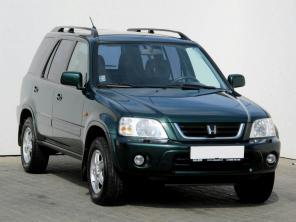 Honda CRV 2001 SUV žltá 10