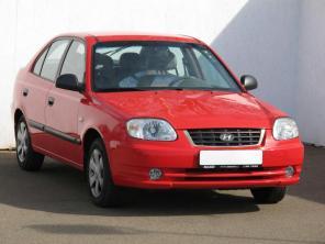 Hyundai Accent 2005 Hatchback modrá 7