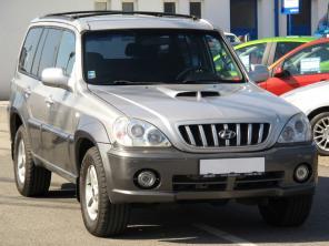 Hyundai Terracan 2004 SUV stříbrná 2