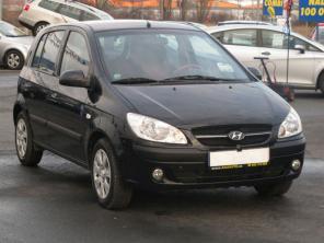 Hyundai Getz 2008 Hatchback czarny 2