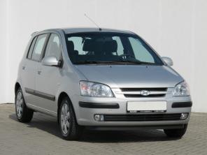 Hyundai Getz 2003 Hatchback strieborná 4