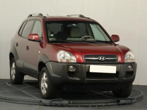 Hyundai Tucson 2006 SUV bordo 7