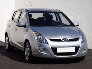 Hyundai i20 2012 Hatchback srebrny 5