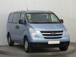 Hyundai H-1 2009 Van stříbrná 9