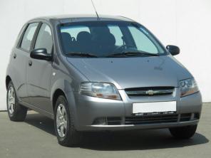 Chevrolet Aveo 2007 Hatchback šedá 9