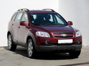 Chevrolet Captiva 2008 SUV červená 9