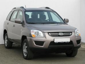 Kia Sportage 2010 SUV srebrny 8