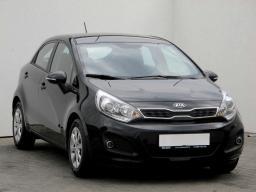 Kia Rio 2014 Hatchback czarny 1