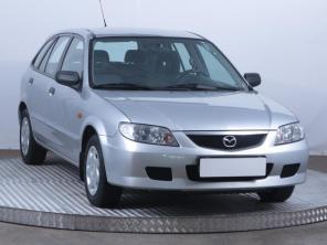 Mazda 323 2003 Hatchback zöld 1