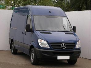 Mercedes-Benz Sprinter 2008 Van modrá 1