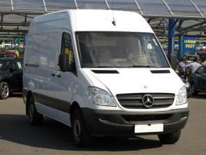 Mercedes-Benz Sprinter 2009 Van bílá 6