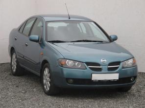 Nissan Almera 2005 Sedan modrá 4