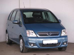 Opel Meriva 2007 Rodinné autá modrá 4
