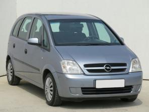 Opel Meriva 2004 Rodinné autá šedá 9