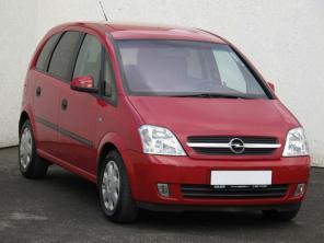 Opel Meriva 2005 Rodinné autá červená 10