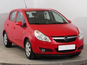 Opel Corsa 2011 Hatchback czerwony 9