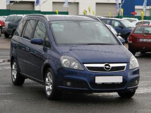 Opel Zafira 2007 MPV kék 10