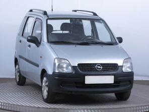Opel Agila 2003 Hatchback stříbrná 3