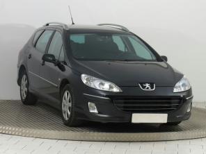 Peugeot 407 2007 Combi čierna 9