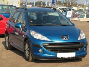 Peugeot 207 2007 Combi niebieski 5