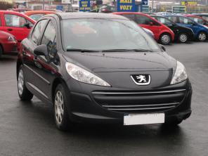Peugeot 207 2008 Hatchback czarny 6