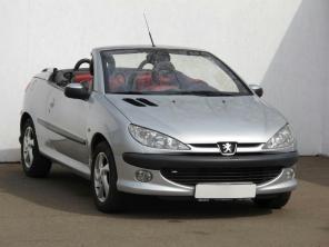 Peugeot 206 2003 Cabrio strieborná 1