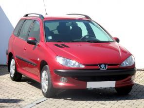 Peugeot 206 2004 Kombi piros 2