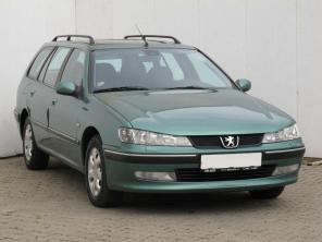 Peugeot 406 2001 Combi modrá 9